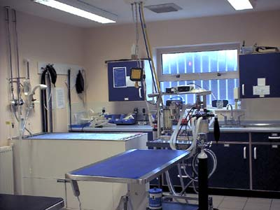 A large operating theatre.